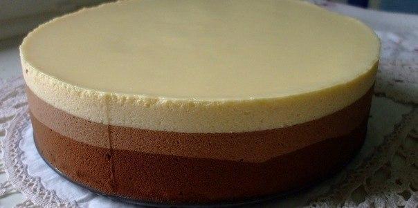 Торт шоколадное трио рецепт