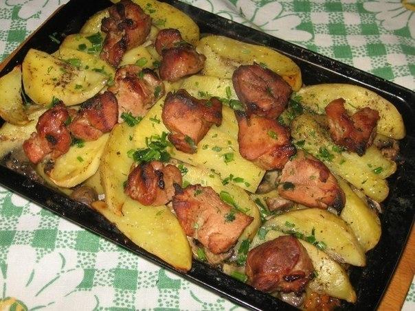 Вторые блюда со свининой рецепты в духовке