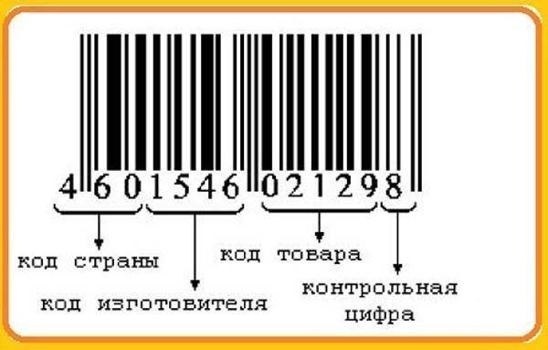 как по штрих коду узнать номер