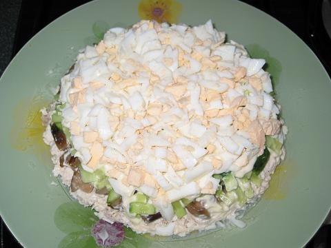 Вкусные новые салаты и с
