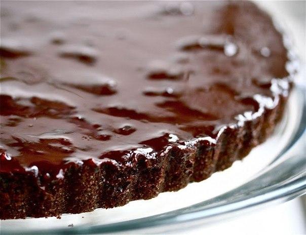 шоколадный пирог с какао рецепт с фото
