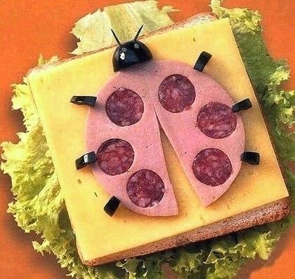 Как сделать бутерброды легкие