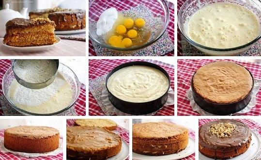 Торт медовик бисквитный рецепт с пошагово в домашних условиях