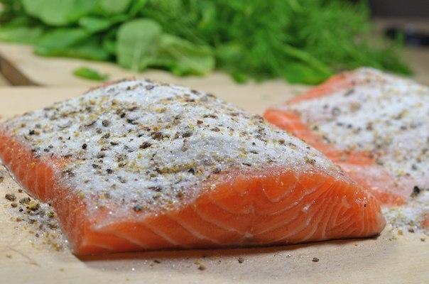 Как засолить филе лосося в домашних условиях рецепт пошагово