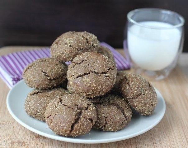 Рецепт печенья с марципаном