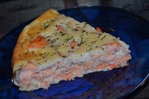Семга пирог рецепт