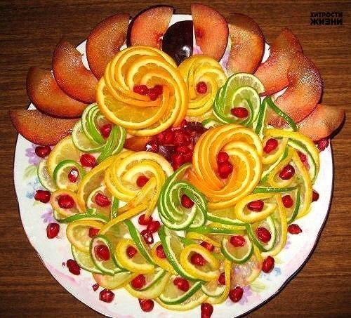 Красивые блюда пошаговые