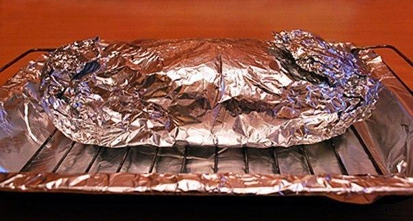 Рулет из свинины в духовке в фольге пошаговый рецепт с фото