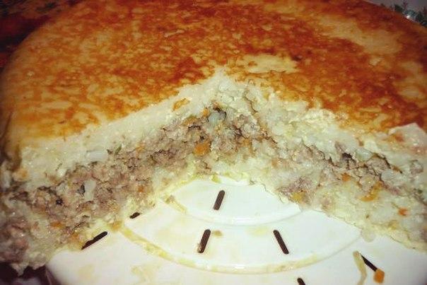 Рисовые запеканки с фаршем в духовке