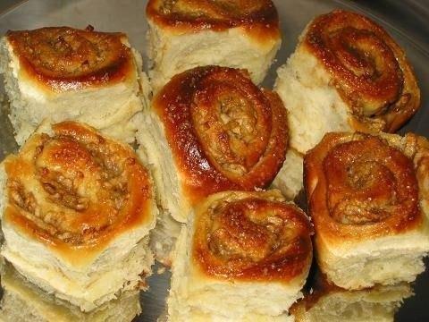 Булочки с яблоком в духовке рецепт с пошагово